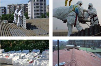 rimozione smaltimento amianto roma