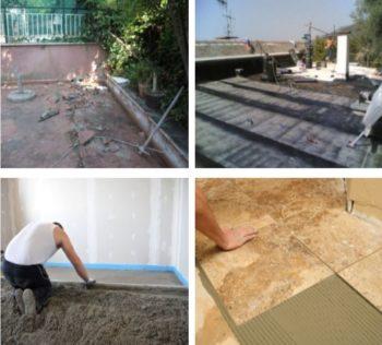 Prezzi ristrutturazione terrazzi Roma – impresa Edile Roma Nord srl